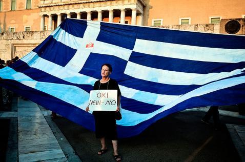 Los griegos dicen 'NO'  a sus acreedores de la UE y FMI