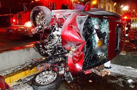 Joven universitario fue la víctima fatal de accidente en túnel de la Avenida Colombia