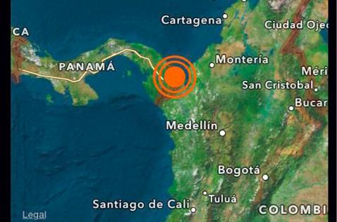 Fuerte temblor de 6.1 grados de intensidad sacudió a Chocó