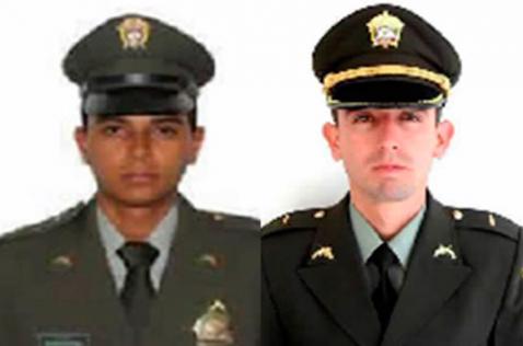 Dos policías fueron asesinados por las Farc en el Huila