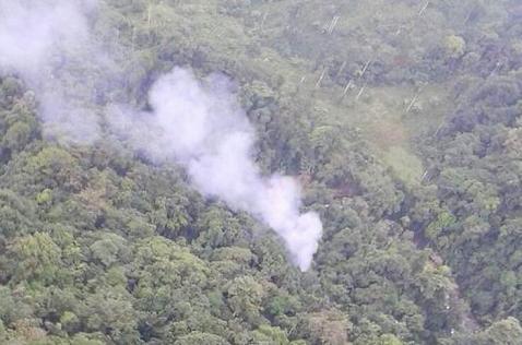 Helicóptero chocó contra ladera por malas condiciones climáticas: Mindefensa