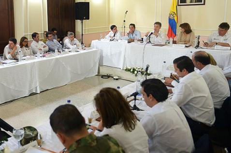 Presidente Juan Manuel Santos decretó emergencia económica en Cúcuta