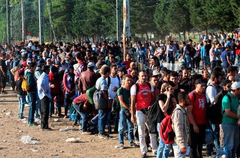 Alemania y Austria esperan a 7.000 refugiados para este sábado