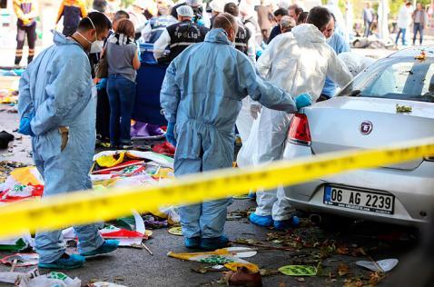 Más de 80 muertos deja atentado terrorista en Ankara, Turquía