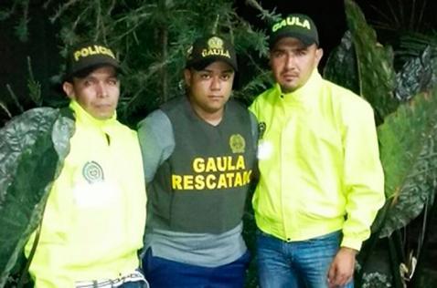 Entre cañaduzales permanecía universitario que fue rescatado en el Cauca