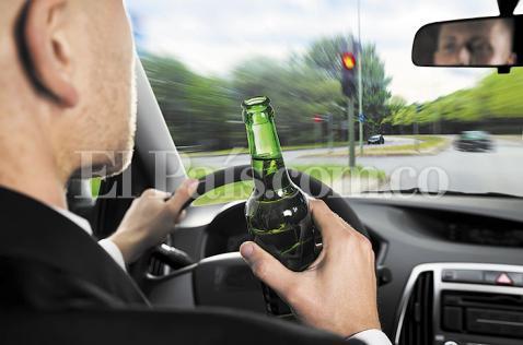 La huella ridícula de los borrachos al volante en Cali