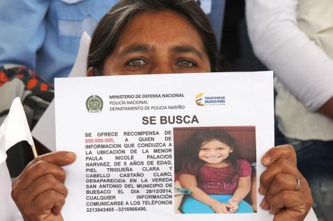 Fiscalía anuncia que habrá más capturas por desaparición de Nicole Palacios