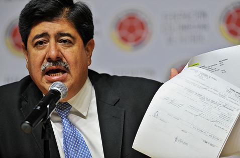 Fifa sanciona de por vida a Luis Bedoya