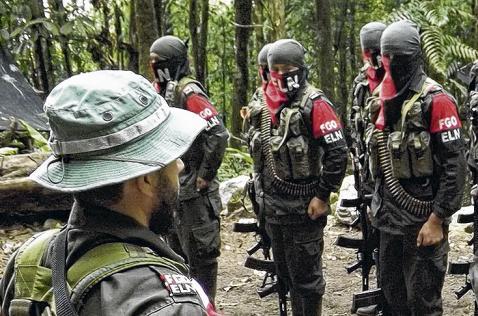 Guerrilla del ELN deja sin electricidad tres municipios del país