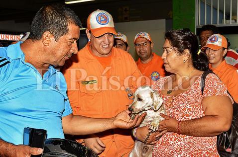 Llegó a Cali otro grupo de sobrevivientes del terremoto de Ecuador