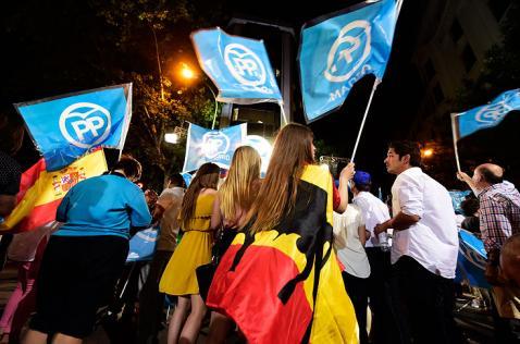El Partido Popular, de Mariano Rajoy, gana las elecciones legislativas en España