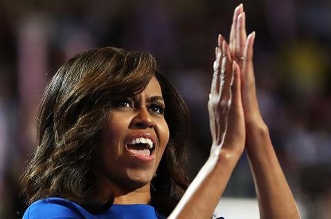 Hillary Clinton es la única calificada para presidente, dice Michelle Obama