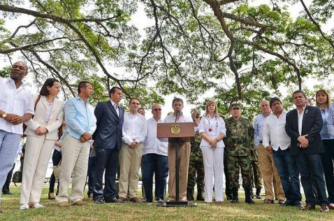 Presidente Santos anunció el incremento de jueces y fiscales para el Valle y Cali