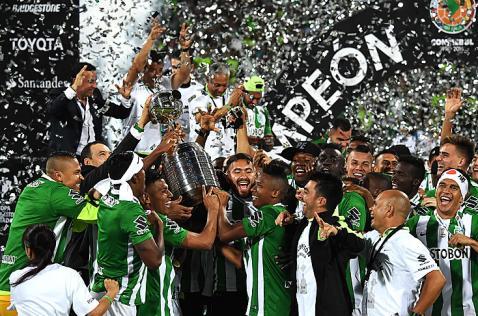 Atlético Nacional, campeón de la Copa Libertadores de América