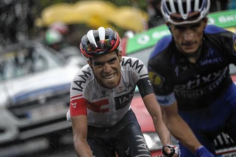 Járlinson Pantano volvió a ser protagonista en el Tour de Francia