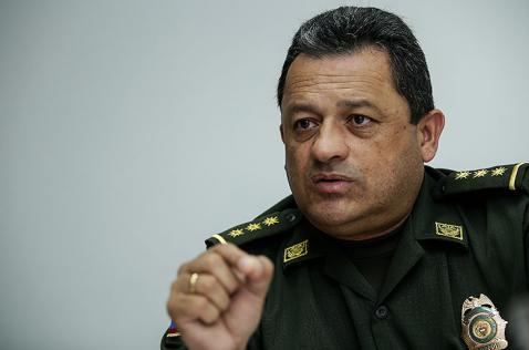 """""""Estamos capturando a los policías que se salen de sus principios"""": director de la Policía"""