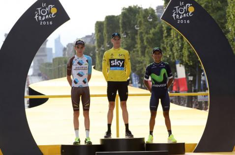Nairo Quintana se montó de nuevo al podio del Tour de Francia