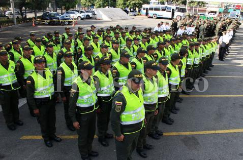 Más de 700 policías llegaron a Cali para combatir la delincuencia