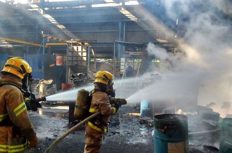 Fuga en tubería habría causado explosión en empresa metalúrgica de Acopi, Yumbo