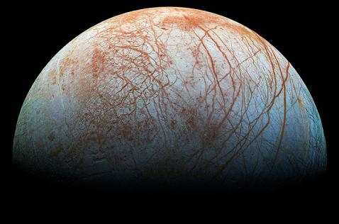 Nasa anuncia posibles columnas de vapor de agua en una luna de Júpiter