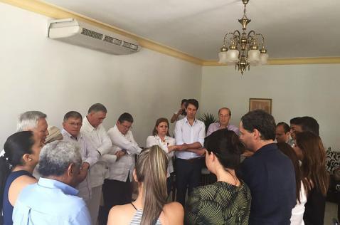 Familiares de los diputados del Valle se reúnen con las Farc en Cuba