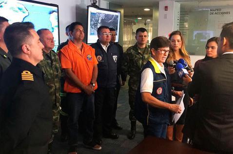 Huracán Matthew se aleja de la costa colombiana dejando daños menores