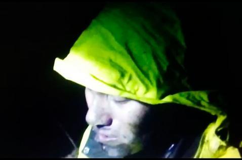 Revelan dramático video del rescate del técnico de avión del Chapecoense
