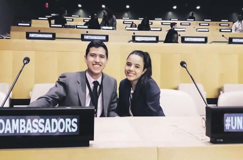 La historia de la joven caleña destacada por sus debates sobre la ONU