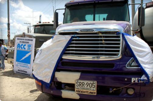 Gobierno Nacional presentó plan de apoyo al camionero