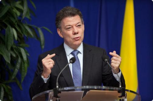 Presidente Santos asevera que no tiene intenciones de buscar la reelección