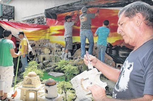 San Fernando Viejo, un barrio con sentido navideño