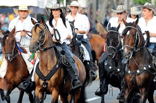 Buen balance presentaron las autoridades al final de la Cabalgata de la 55 Feria de Cali - elpais.com.co
