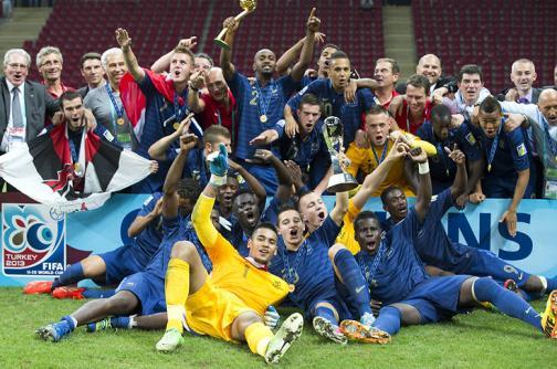 La selección Francia consigue el título del Mundial Sub 20