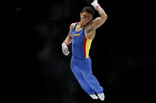 Jossimar Calvo gana su segunda medalla de oro en Copa Mundo de Gimnasia