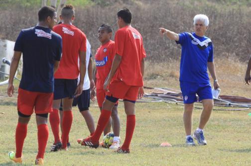 Julio Comesaña inició trabajos con el Atlético Junior