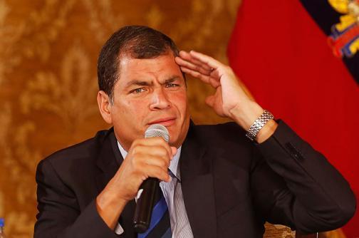 "Presidente de Ecuador alerta sobre planes ""golpistas"" en protesta de este jueves en Quito"