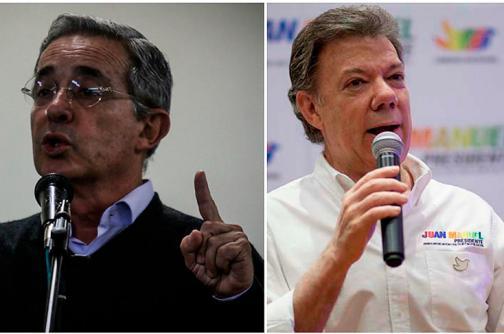 ¿Inició el fin de las  rencillas  entre Santos y Uribe?