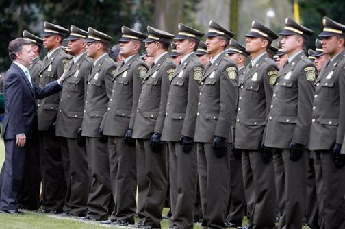 Gobierno garantiza a la Fuerza Pública prestaciones sociales y beneficios