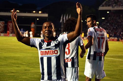 Dorlan Pabón marcó con Monterrey en México