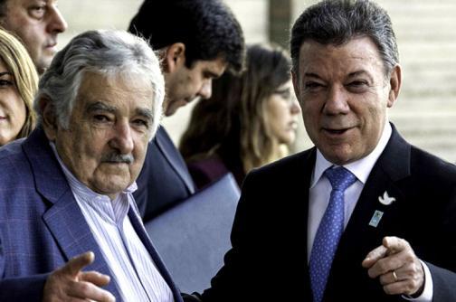 Santos aclara que Pepe Mujica no será mediador de los diálogos de paz