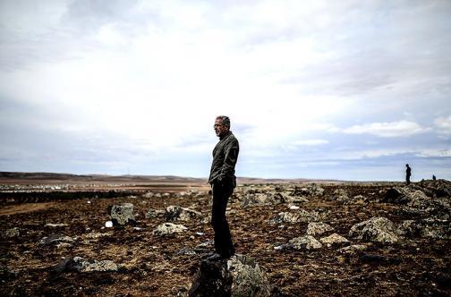 En fotos: desde la frontera turca, los kurdos observan Kobane