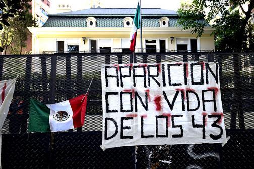 En fotos: ¡qué los 43 estudiantes aparezcan vivos! clamaron los mexicanos