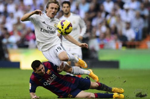 En la lente: Real Madrid vs. Barsa
