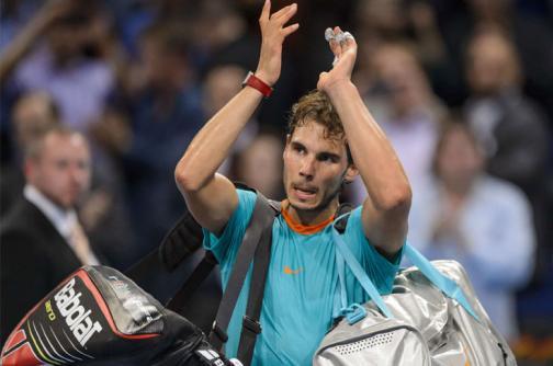 En imágenes, el último juego de la temporada 2014 de Rafael Nadal