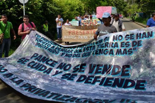 Así fue la marcha contra entrega de Ecoparque Río Pance a particulares