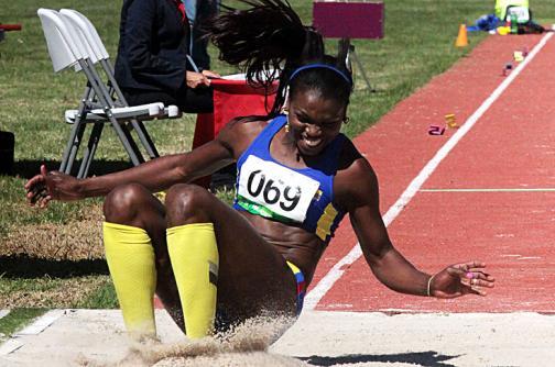 Caterine Ibargüen aseguró presencia en Juegos Olímpicos de Río 2016