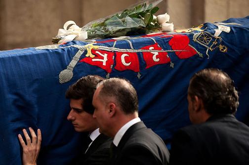 En fotos: el último adiós a la duquesa de Alba en capilla ardiente