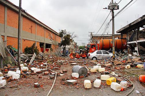 En fotos: Los estragos que dejó el incendio en la zona industrial de Fepicol