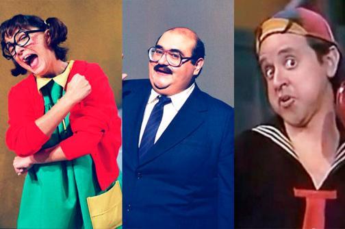 En fotos: 'Chespirito' y sus amigos, recuerde los personajes más famosos