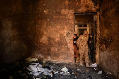 Fotos: los funerales de los 132 niños asesinados en Pakistán